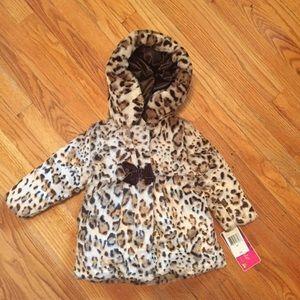 Pistachio Reversible Leopard Jacket - NEW